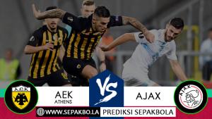 Prediksi Sepakbola AEK Athens vs Ajax 28 November 2018