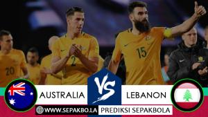 Prediksi Sepakbola Australia vs Lebanon 20 November 2018