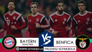 Prediksi Sepakbola Bayern Munchen vs Benfica 28 November 2018
