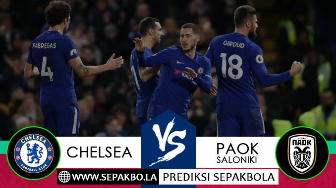 Prediksi Sepakbola Chelsea vs PAOK Saloniki 30 November 2018