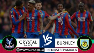 Prediksi Sepakbola Crystal Palace vs Burnley 01 Desember 2018