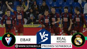 Prediksi Sepakbola Eibar vs Real Madrid 24 November 2018