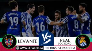 Prediksi Sepakbola Levante vs Real Sociedad 11 November 2018