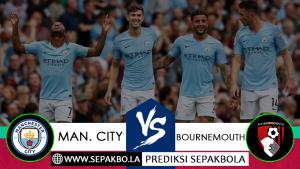 Prediksi Sepakbola Manchester City vs Bournemouth 01 Desember 2018