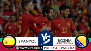 Prediksi Sepakbola Spanyol vs Bosnia Herzegovina 19 November 2018