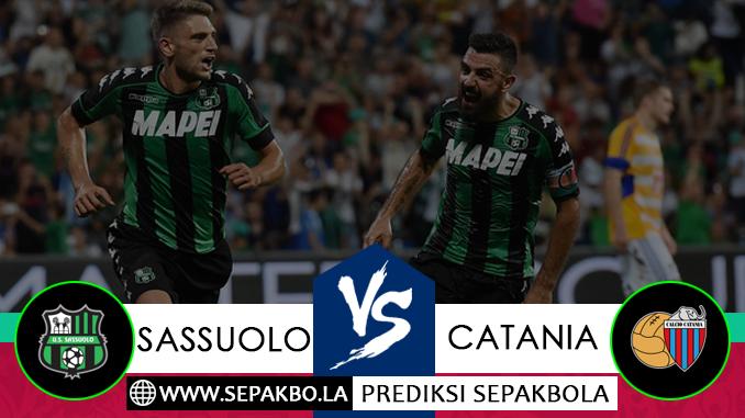 Prediksi Bola Sassuolo vs Catania 06 Desember 2018