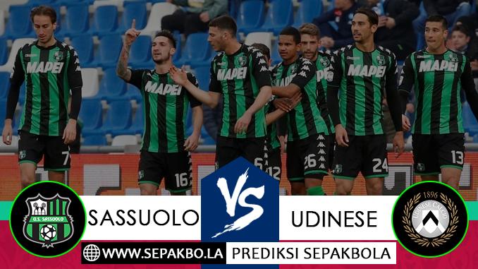 Prediksi Bola Sassuolo vs Udinese 02 Desember 2018